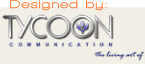 Tycoon Communication - web design